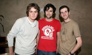'It was a lightbulb moment' … Keane, from left, Tom Chaplin, Tim Rice-Oxley and Richard Hughes, in 2004.