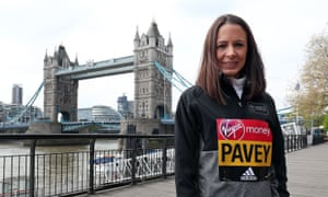 Jo Pavey competes in her second London Marathon, at the age of 43, on Sunday and hopes to earn a place at the world championships in the summer