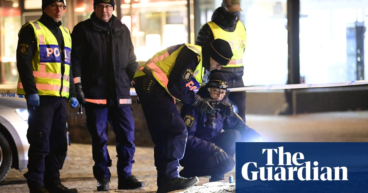 Man armed with axe injures eight in possible terrorist attack in Sweden