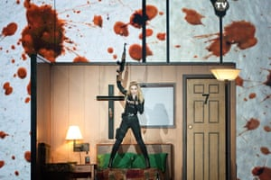 2012: Madonna performs on stage at the Ziggo Dome in Amsterdam during her MDNA world tour