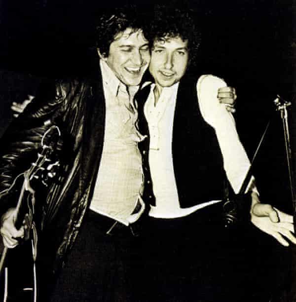 Phil Ochs with Bob Dylan in 1963.