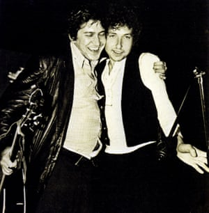 Phil Ochs with Bob Dylan in 1963.