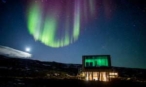 'As we drive to the Ion Luxury Adventure Hotel, Iceland pulls another spectacular out of the bag: there, streaking across the horizon, are the northern lights!'