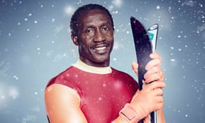 The harder they fall... Linford Christie.