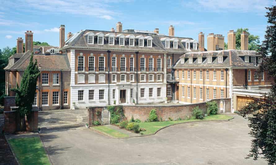 Witanhurst House in Highgate, which has a swimming pool, cinema and underground car park