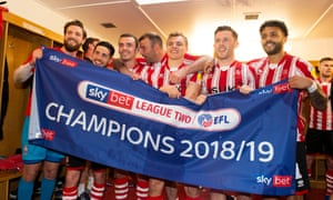 Lincoln City are League Two champions.