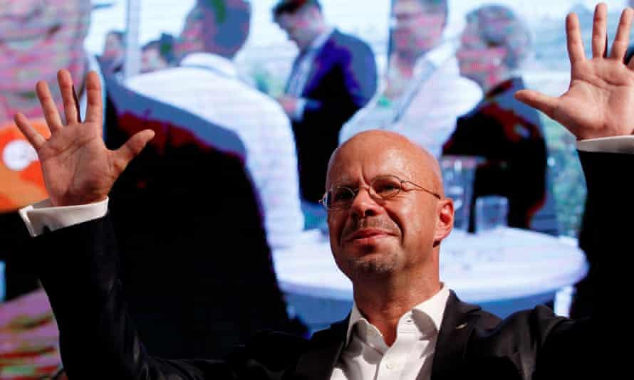 Andreas Kalbitz of the AfD in Brandenburg