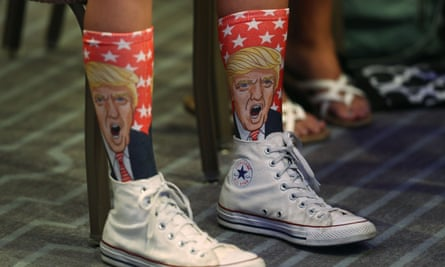 Sock tactics: what yarns did Trump spin this week?