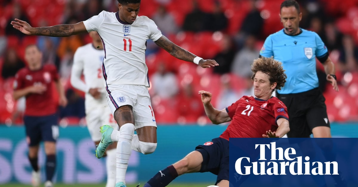 Marcus Rashford tells England to 'put names in history' by beating Germany
