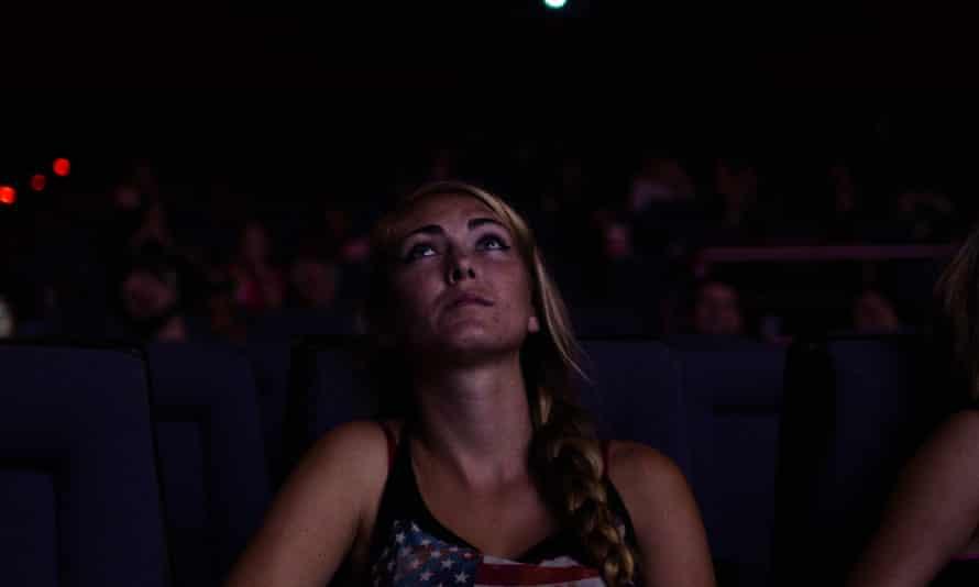 Ciara Hampton in Dark Night: pointillist, but also pointless