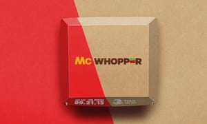 Packaging for the potential McWhopper