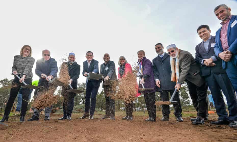 Five years after the Bendigo mosque became a rallying point for far-right extremists, the first sod has been turned