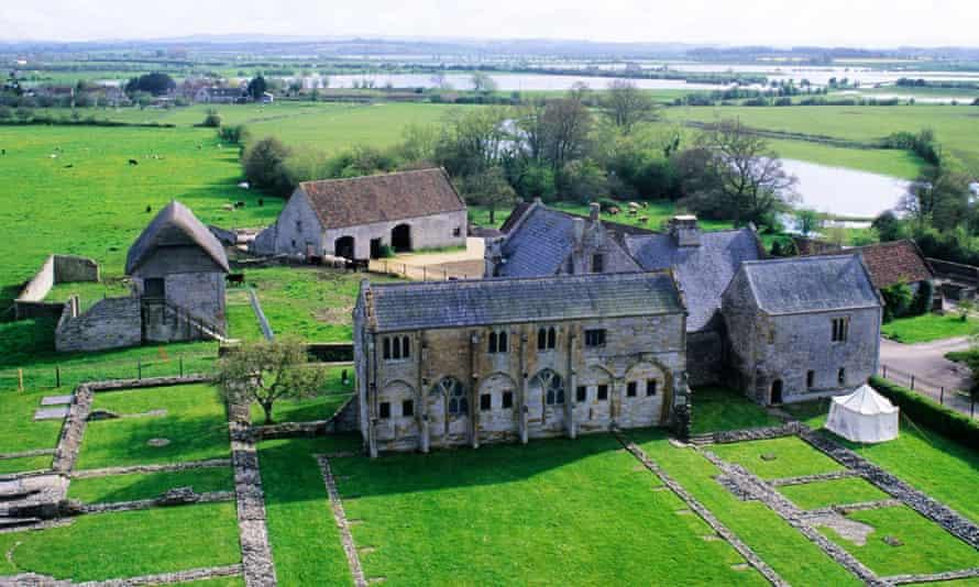 Muchelney Abbey in Somerset