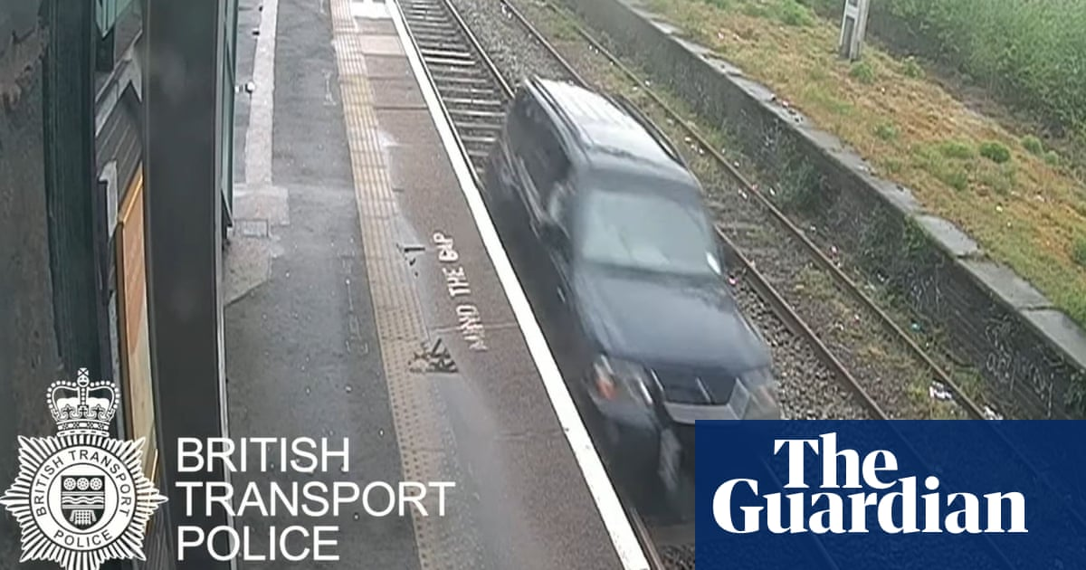Man jailed for driving a car half a mile on railway track in Birmingham