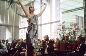 A Halston show from 1982 captured by Moore.