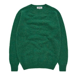 Green lambswool, £150, youmustcreate.com.