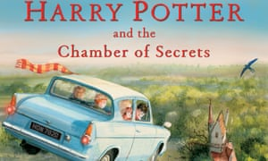 Harry Potter and the Chamber of Secrets illustrated edition cover