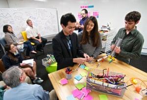 The JPL Studio team at work.