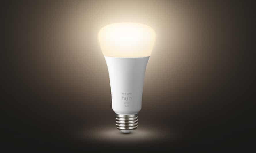 A Philips Hue bulb.
