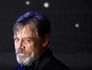 Mark Hamill poses for the cameras