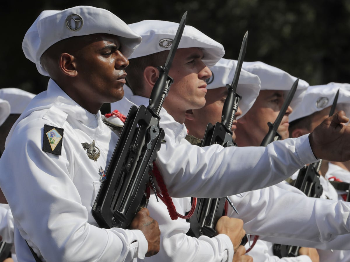 Europe finally pulls the trigger on a military force | European Union | The  Guardian