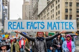 The March for Science in New York City