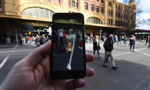 The augmented reality app has been downloaded 7.5m times so far.