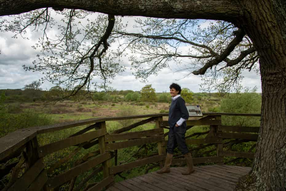 Isabella Tree, one of the farmers at Knepp, and author of Wilding.