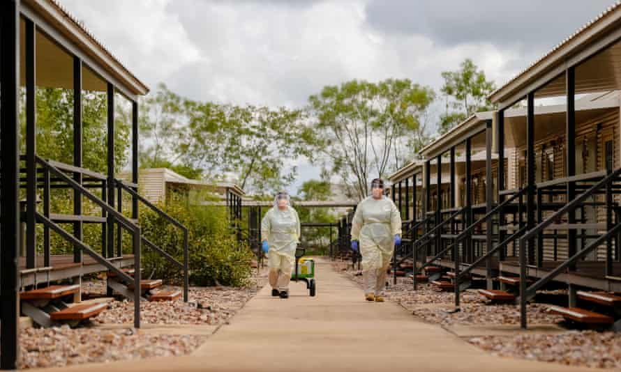 The Howard Springs quarantine facility in Darwin
