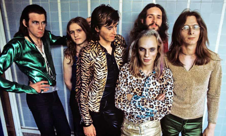 Roxy Music in 1972, with Eno at front