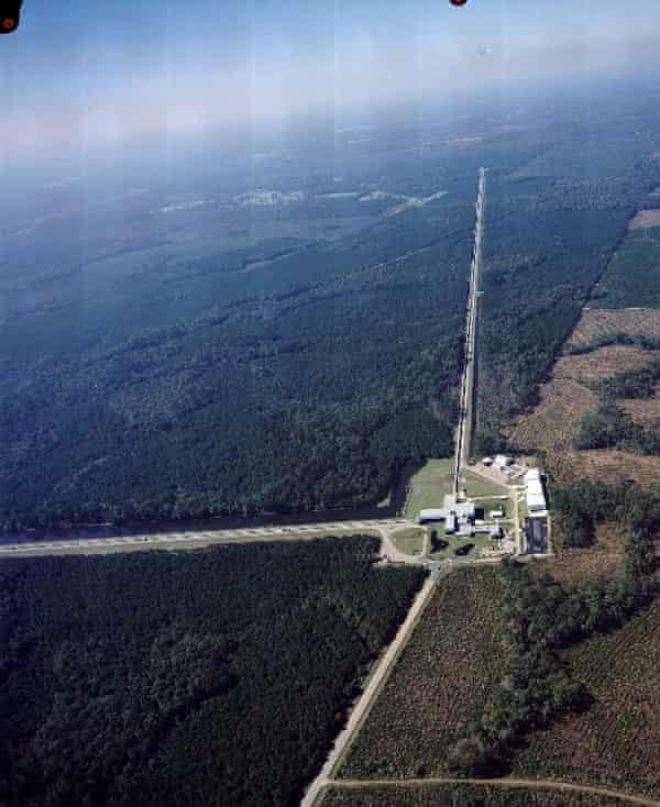 Aerial views of Ligo's Livingston Laboratory