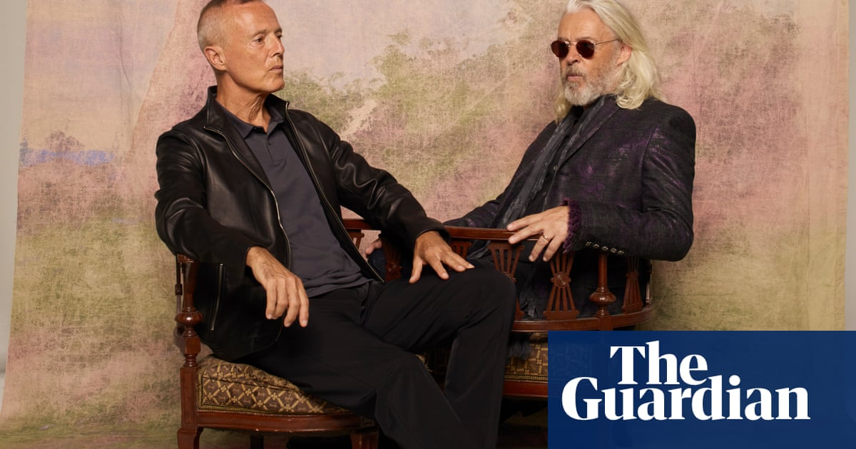 'If there is a God, this is what he put us on Earth to do': the unlikely return of Tears for Fears