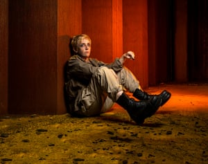 Julie Hesmondhalgh stars in a new version of Brecht's play adapted by Anna Jordan and directed by Amy Hodge, co-produced by Headlong and Manchester's Royal Exchange.