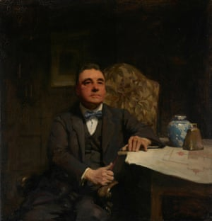 WB McInnes took out the inaugural Archibald Prize with this portrait of renowned Bendigo-born architect Harold Desbrowe Annear. McInnes dominated the competition for the first decade with his dark academic realism, taking out the award seven times. Oil on canvas (1921)