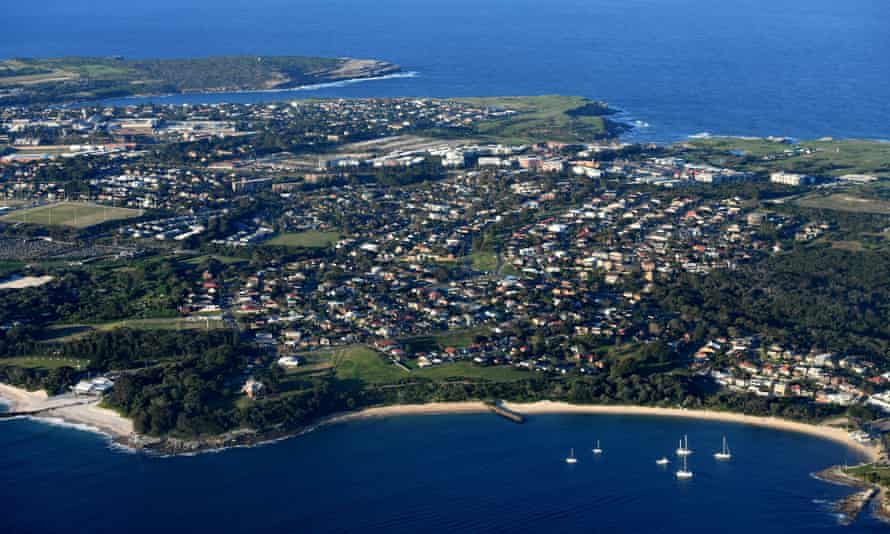 The Sydney suburb of La Perouse from the air