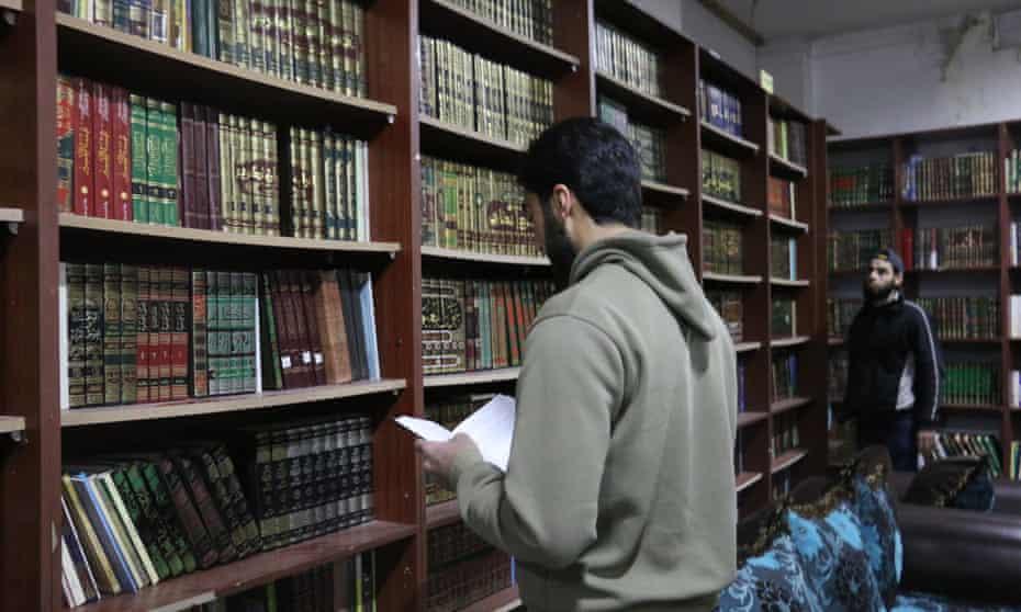 The Darayya library