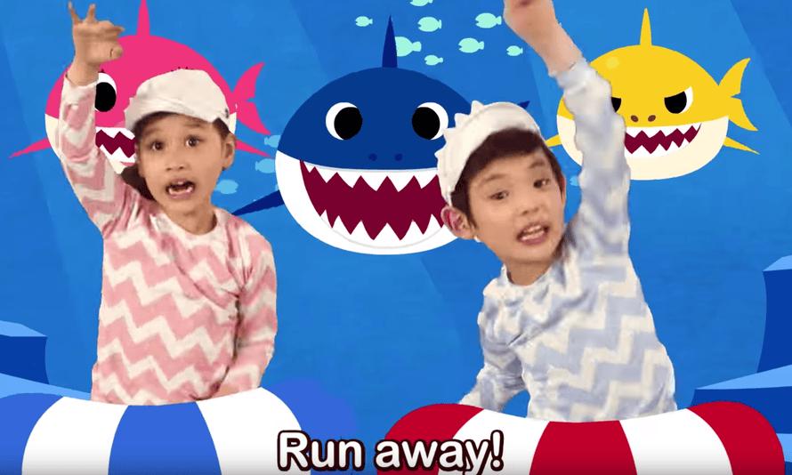 Still from the Baby Shark video.