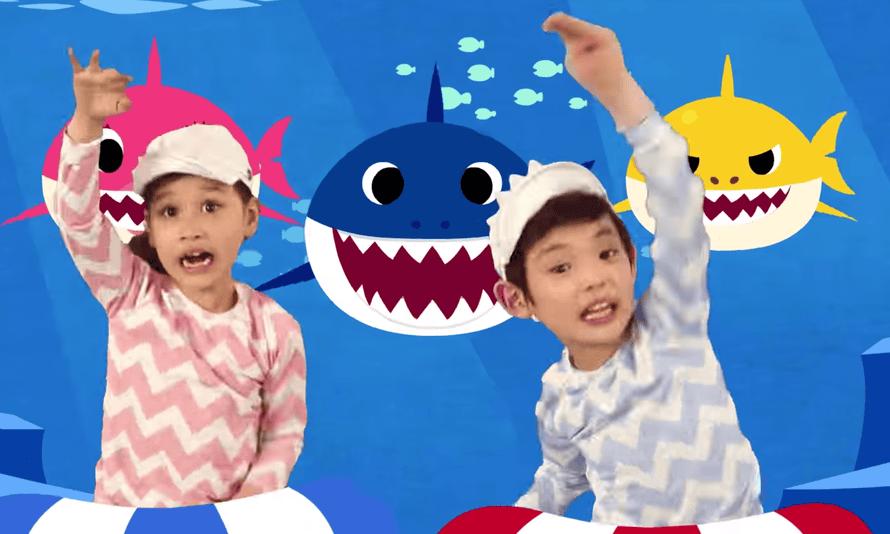 Do the shark: the Baby Shark song.