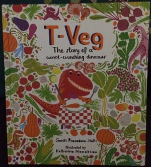 "<strong><a href=""https://bookshop.theguardian.com/catalog/product/view/id/381794/"">T-Veg: The Tale of a Carrot Crunching Dinosaur by Smriti Prasadam-Halls and Katherina Manolessou</a></strong><br><a href=""https://witness.theguardian.com/assignment/56334050e4b0aceae193b8f8"">Reviewed by Damyanti, Bryn (8) and Freya (4)</a><br>T-Veg, a 'carrot crunching dinosaur,' is teased by his friends for his vegetarian ways and runs away to make friends with some herbivores. It's not long, however, before his friends begin to miss him. The story told in rhyme is a joy to read aloud. The pages, teeming with brightly coloured dinosaurs, are captivating and the heartwarming message of 'being happy being you' is an important one to remember."