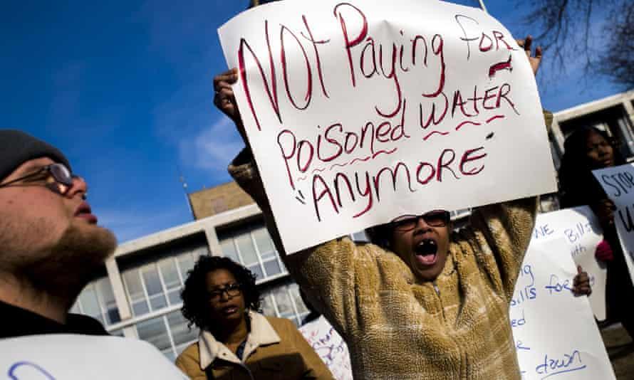 Flint protest