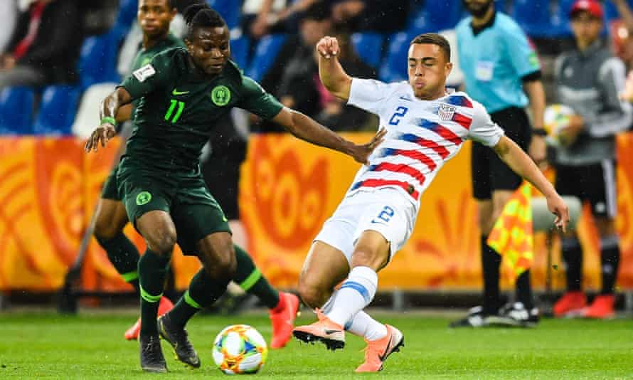 Sergiño Dest helped the US upset France at this year's Under-20 World Cup