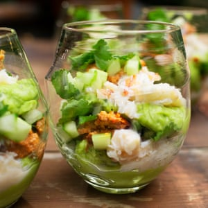 OFM Nigel Crab Avocado Salad
