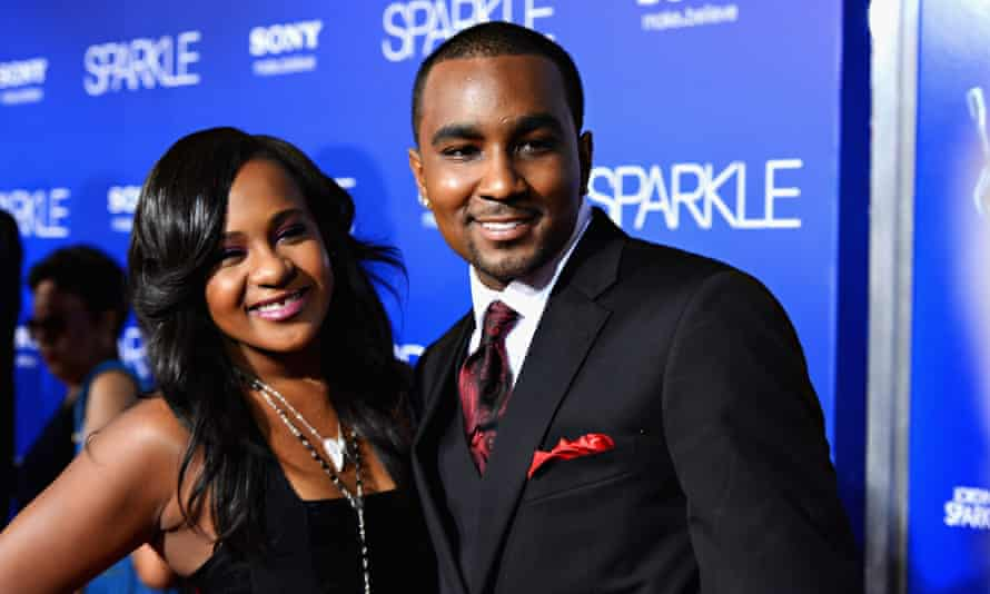 Bobbi Kristina Brown and Nick Gordon in Hollywood, California, on 16 August 2012.