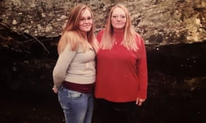 Brittany Brown and Melissa Ann Horn. Horn died of coronavirus in April.