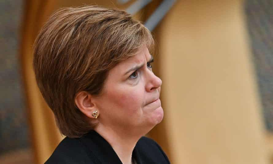 Sturgeon said the desire to live free of restrictions does not mean governments can 'throw all caution to the wind'.