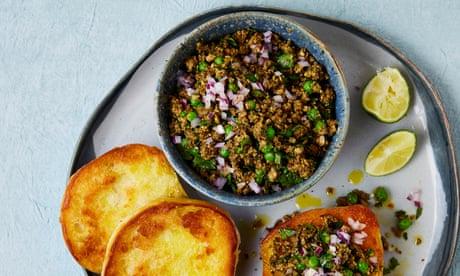Meera Sodha's vegan recipe for spicy mushroom kheema