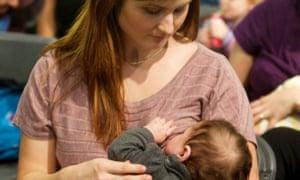 Breastfeeding women