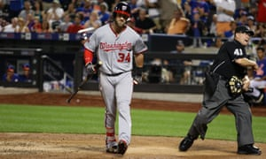 Will Bruce Harper and his Washington Nationals find themselves out of the October playoff picture?