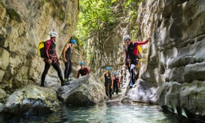 Canyoning in Algodonales with Discovery Aventura