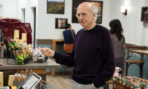 Larry's choice ... Curb Your Enthusiasm.